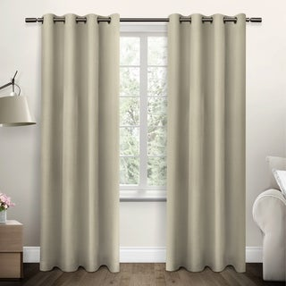 ATI Home Jakarta Grommet Top Curtain Panel Pair