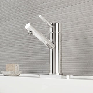 Vigo 'Noma' Single-lever Chrome Faucet with Deck Plate