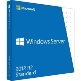 Microsoft Windows Server 2012 R.2 Standard 64-bit - License and Media