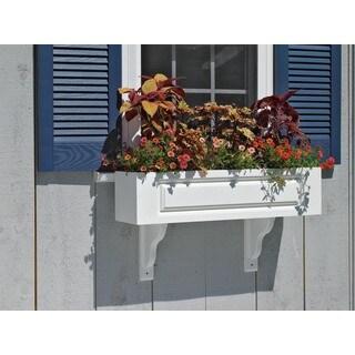 Lazy Hill Farm Designs 'Hampton' White Window Box