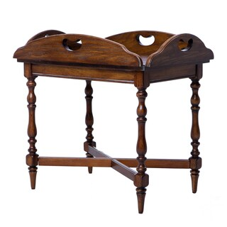 Vintage Oak Butler Table with Leaf