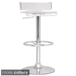 somette acrylic pneumatic gas lift adjustable swivel stool