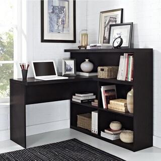 Ameriwood Home Trilium Way Sit/ Stand L-Shaped Desk