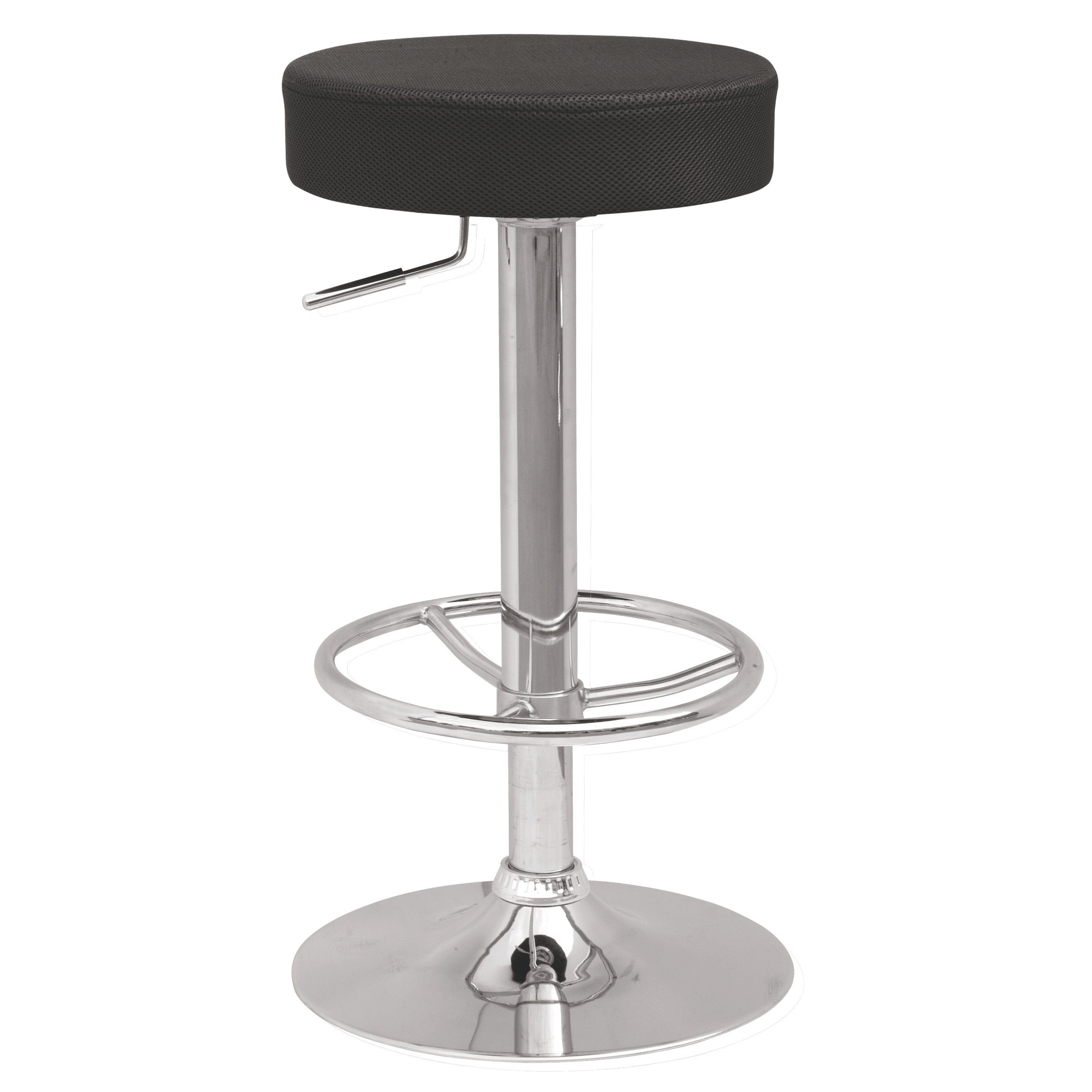 Somette Backless Pneumatic Gas Lift Adjustable Stool with...