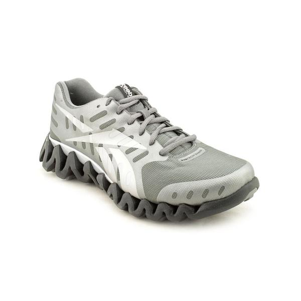 d14451289a35a2 Shop Reebok Men s  ZigTech Shark Pursuit360  Man-Made Athletic Shoe ...