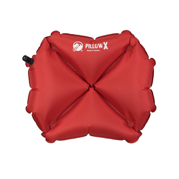 Klymit Red/ Grey X-Inflatable Camping Pillow