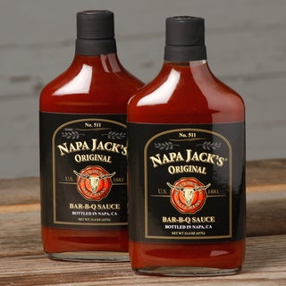Napa Jack's Original Bar-B-Q Sauce (Pack of 2)