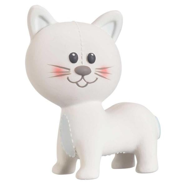 Vulli Lazare the Cat Natural Rubber Teether 12677069