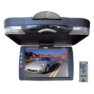 Pyle 14.1-inch Roof Mount TFT LCD Monitor with Built-in DVD Player (Refurbished)