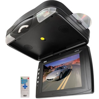 Pyle 12.1-inch' Roof Mount TFT LCD Monitor with Built-in DVD Player (Refurbished)