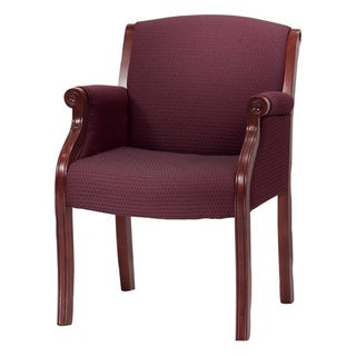 Traditional Executive Mahogany Guest Chair