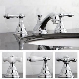 Contemporary PKS5561AL Polished Chrome Widespread Bathroom Faucet