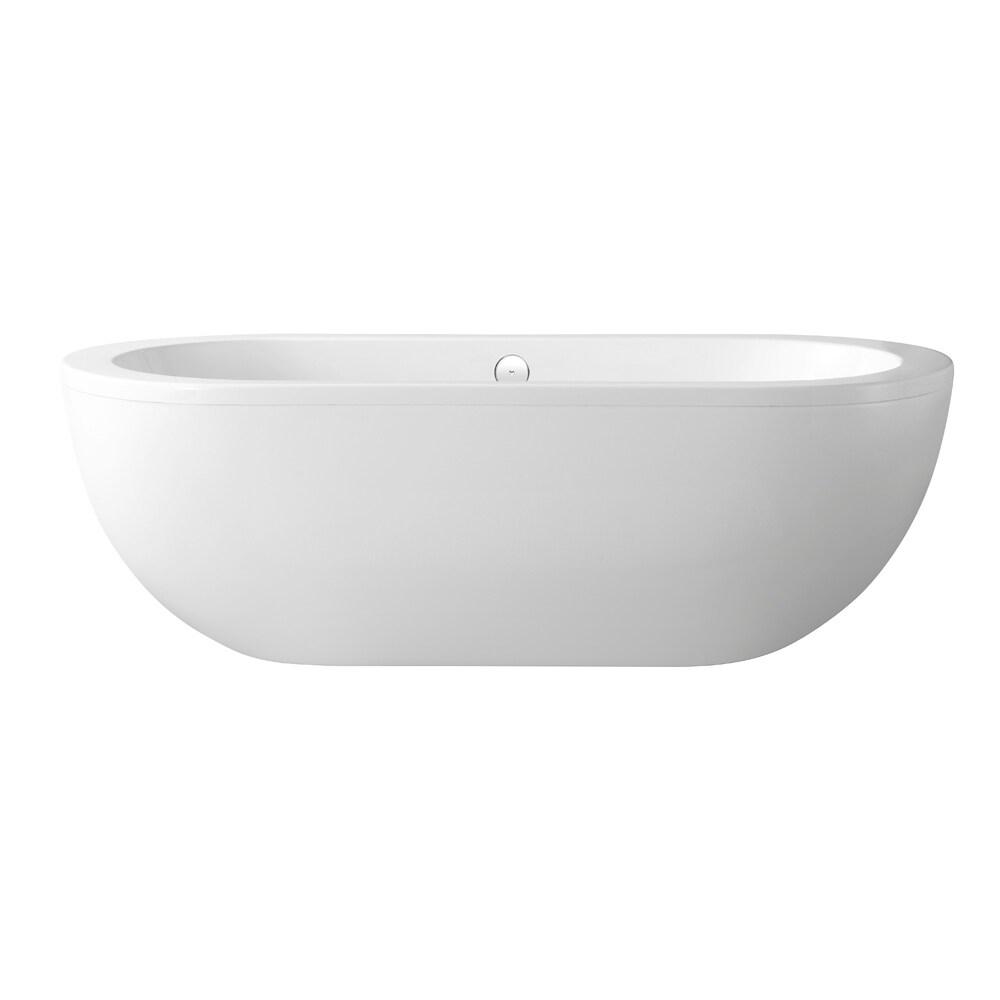 OVE Decors Serenity 71-inch Freestanding Acrylic Tub (Ser...
