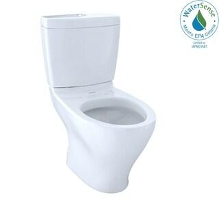 Toto CST412MF10#01 Cotton White Aquia Dual Flush Toilet