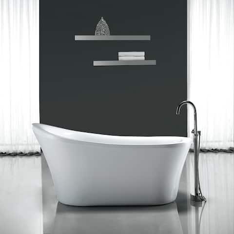 OVE Decors Rachel 70-inch Freestanding Bathtub