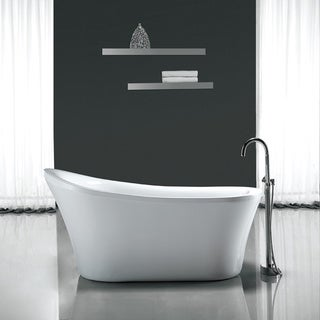 Soaking Tubs Shop The Best Deals For Oct  Overstockcom - 55 inch freestanding tub