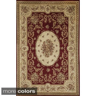 Florence 7724 Traditional Floral Area Rug (7'10 x 10'10)