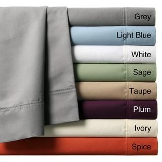 Luxury Manor 800 Thread Count Cotton Rich 6-Piece Sheet Set
