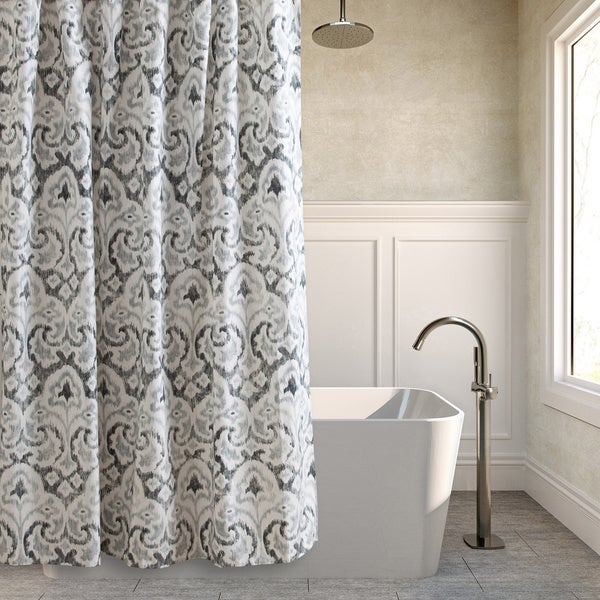 Tommy Bahama Cape Verde Grey Cotton Shower Curtain Free Shipping On Orders Over 45
