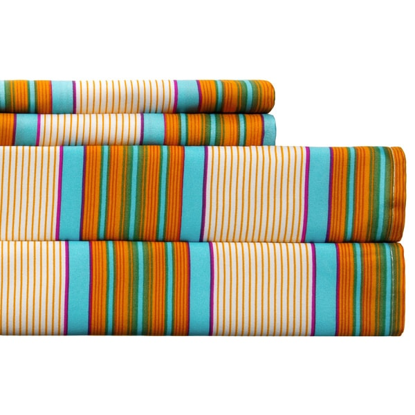Expressions Spring Stripe Multicolored Sheet Set