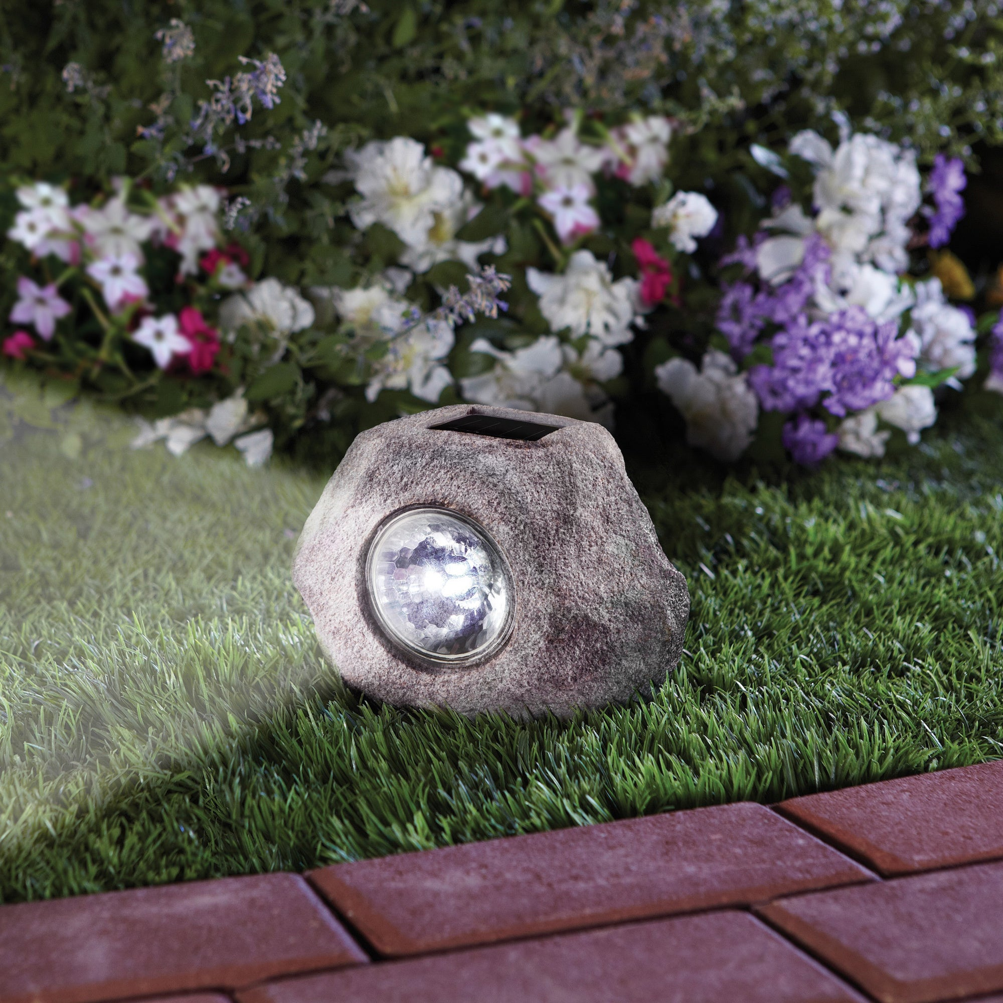 MerchSource Order Home Collection Solar Powered Spotlight...