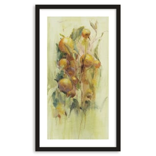 Gallery Direct Golden Fruit Study II Framed Paper Art
