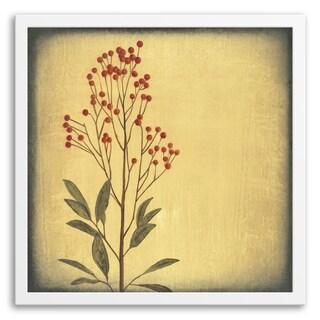 Gallery Direct 'Botanica I' Framed Paper Art