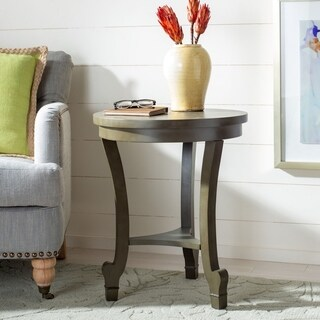 Safavieh Monty Saddle Brown End Table