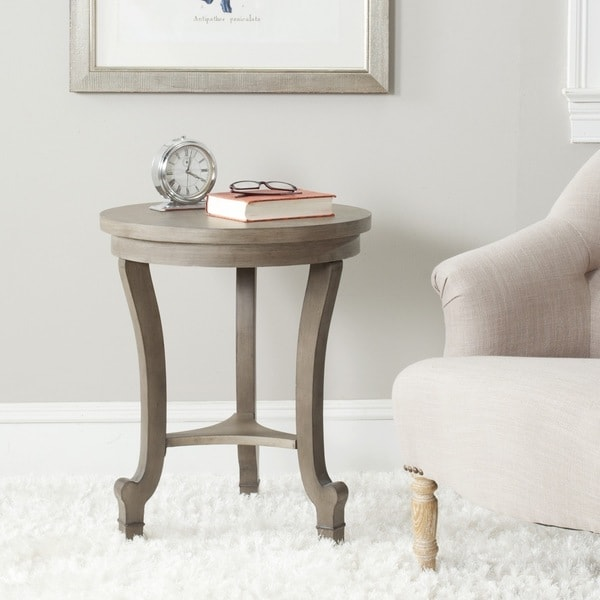 Shop Safavieh Monty Saddle Brown End Table 20 Quot X 20 Quot X 24 Quot On Sale Free Shipping Today
