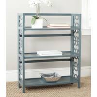 Safavieh Natalie Teal Low Bookcase