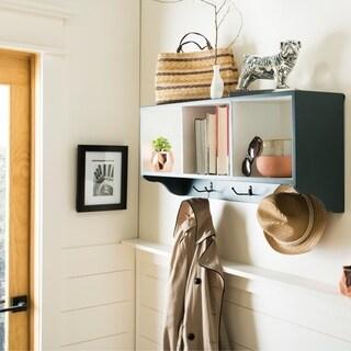Safavieh Alice Navy/ White Wall Shelf