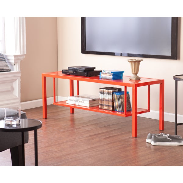 Holly & Martin Maians Red-Orange Media Console