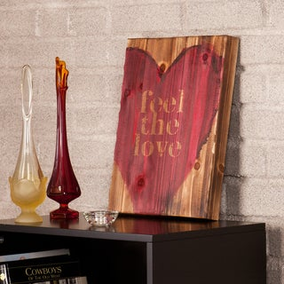 Holly & Martin Swoon Feel The Love Wall Panel