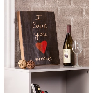 Holly & Martin Swoon I Love You More Wall Panel