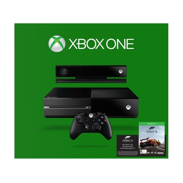 Xbox One Console with Forza 5 (Download)