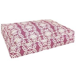 Lavender Medallion Dog Bed (India)