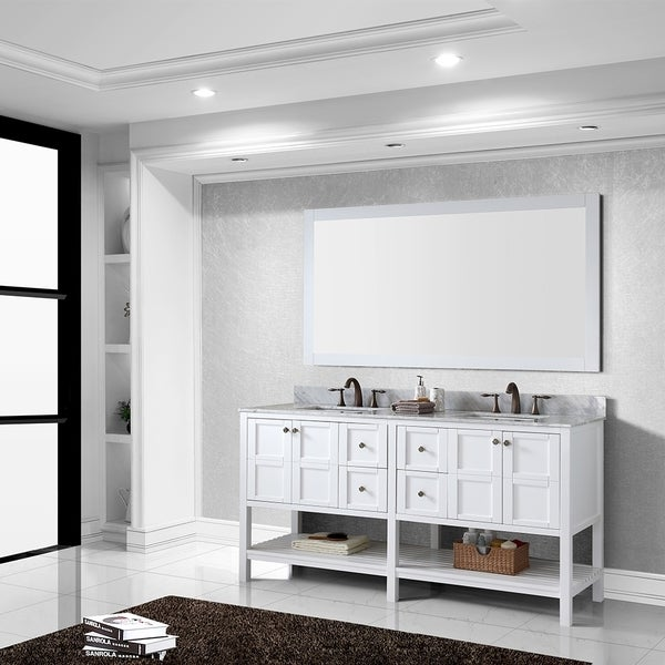 design element london 72inch double sink bathroom vanity set