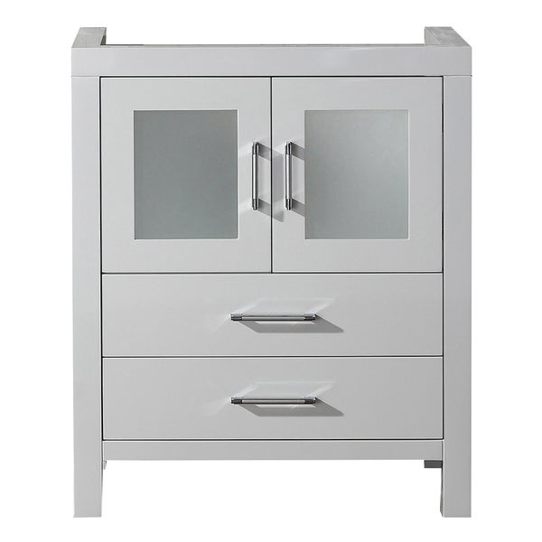 28 inch white bathroom vanity virtu usa 28 inch white single sink cabinet only 21791