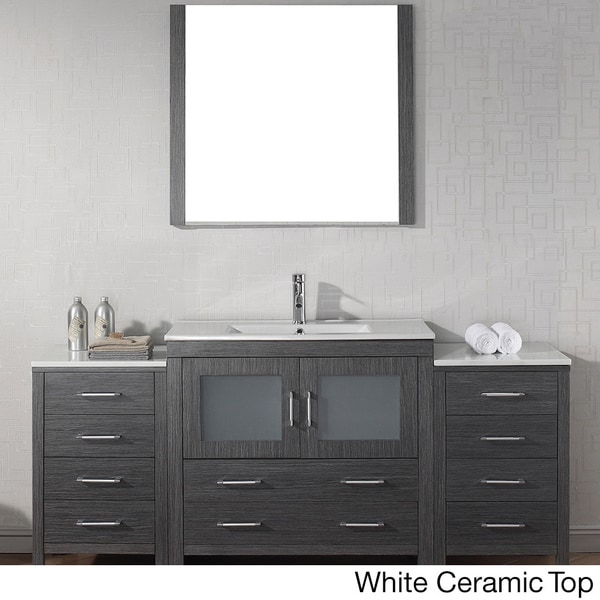 72 inch bathroom vanity single sink 24804