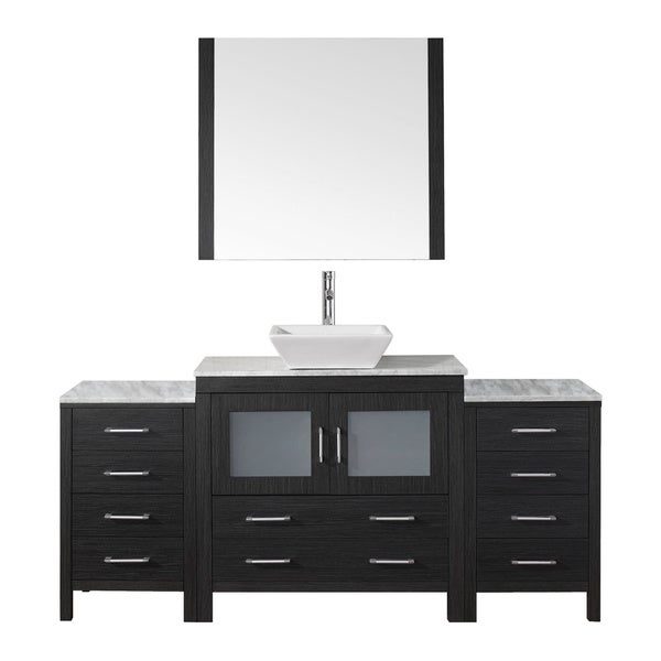 72 inch bathroom vanity single sink shop virtu usa 72 inch single sink vanity set in 24804