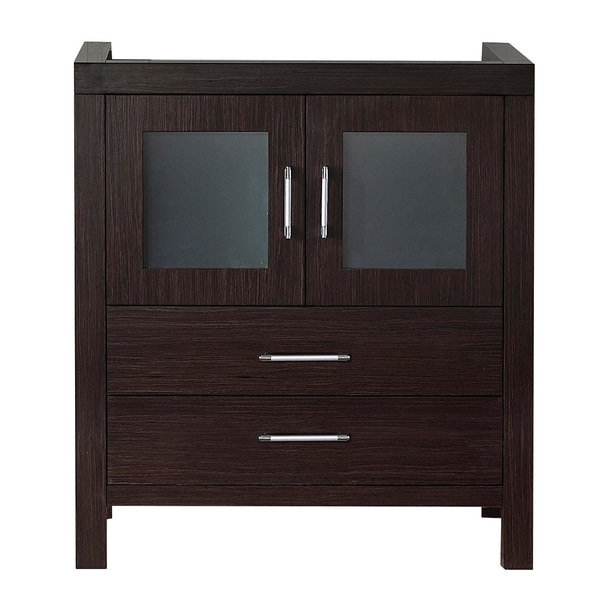 28 inch bathroom vanity cabinet virtu usa 28 inch espresso single sink cabinet only 10143