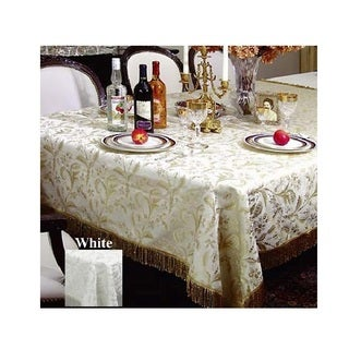 Luxury Damask Floral Design Tablecloth