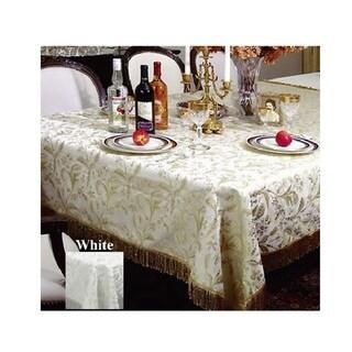 Luxury Damask Floral Design Tablecloth