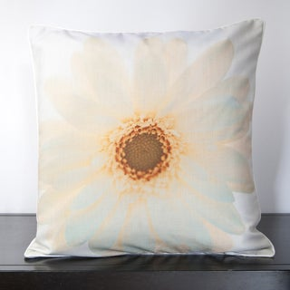 Sunny Sunflower Down Filled or Poly Filled Decorative Throw Pillow