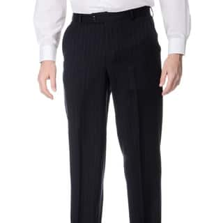 Palm Beach Men's Big and Tall Navy Flat Front Pants https://ak1.ostkcdn.com/images/products/8911120/P16129281.jpg?impolicy=medium