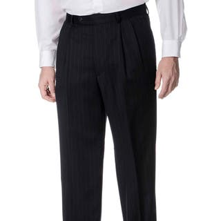 Palm Beach Men's Big and Tall Pleated Front Navy Pants|https://ak1.ostkcdn.com/images/products/8911122/P16129283.jpg?impolicy=medium