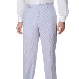 Palm Beach Men's Big & Tall Flat Front Pant