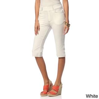 La Cera Women's Missy Tri-blend Knee-length Shorts (More options available)