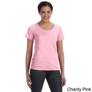 Anvil Women's Sheer Scoop Neck T-shirt