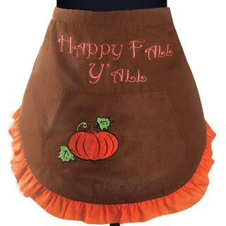 Manual Woodworkers Terri Puma 'Happy Fall Y'all' Waist-down Apron